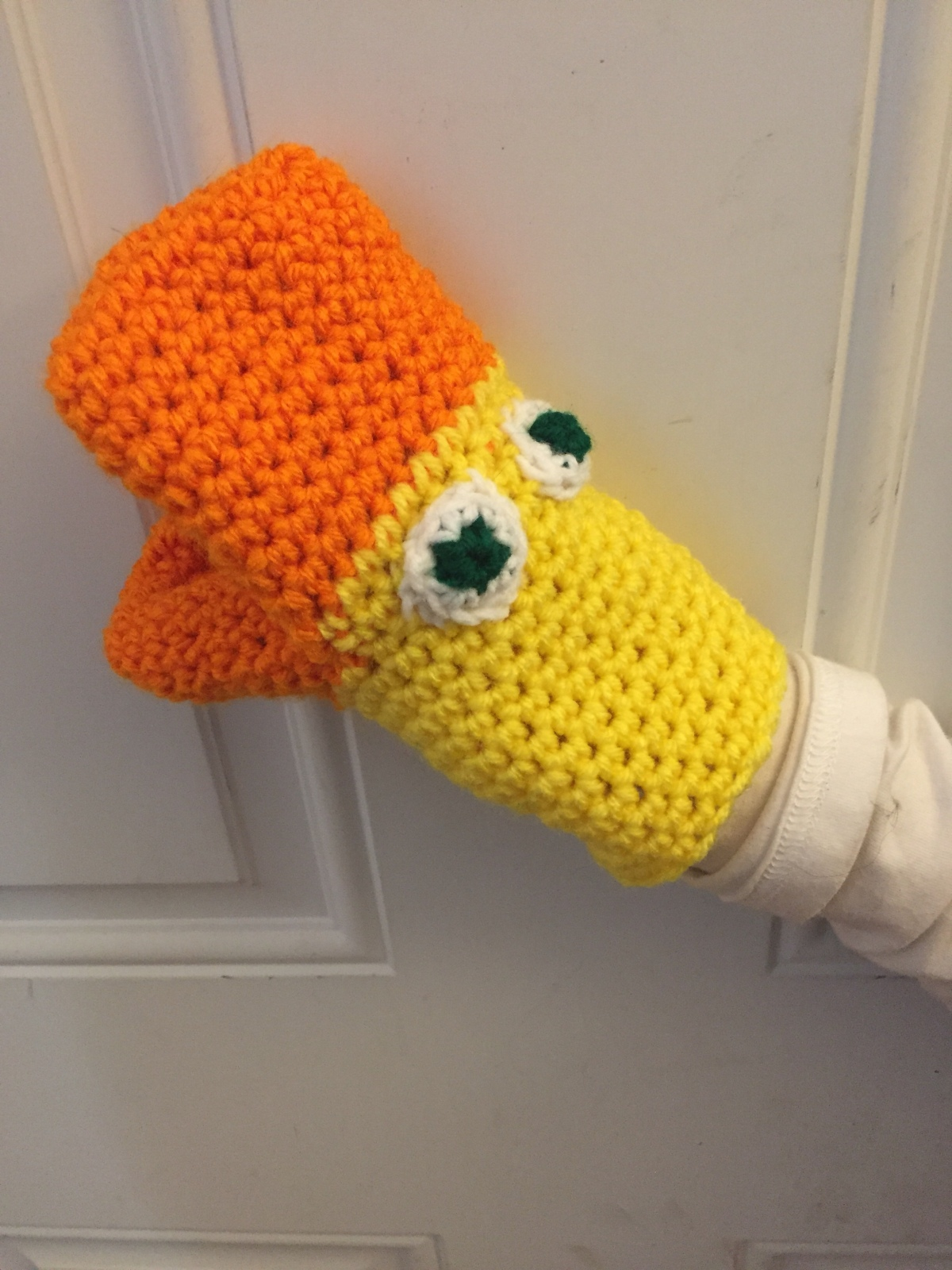 For little hands: Duck