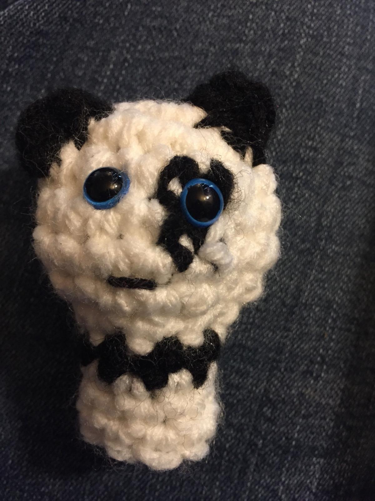 Panda Bear FingerPuppet